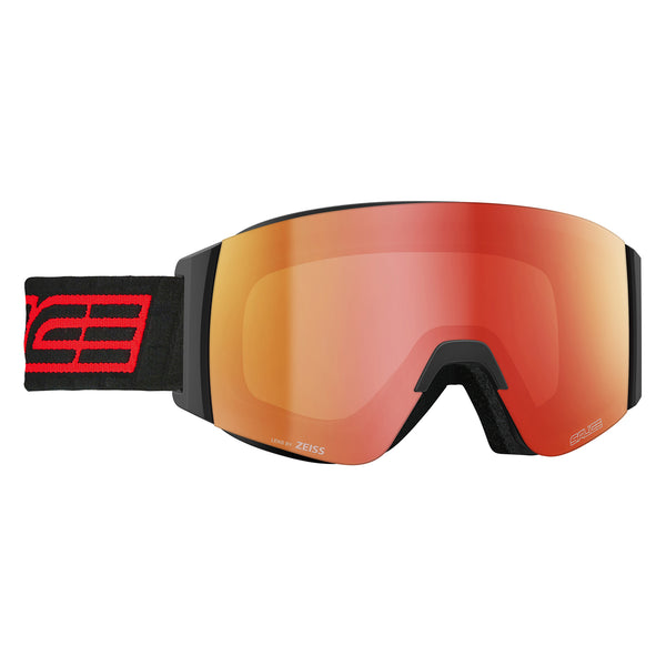 Salice Element Frameless Black and Red Ski Goggles