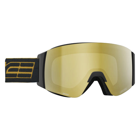 Salice Element Frameless Black and Gold Ski Goggles