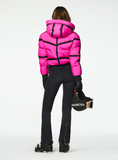 Goldbergh Web Ski Jacket in Wow Pink