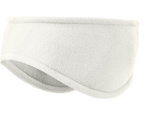 Manbi Warm Ears Fleece Headband in Winter White