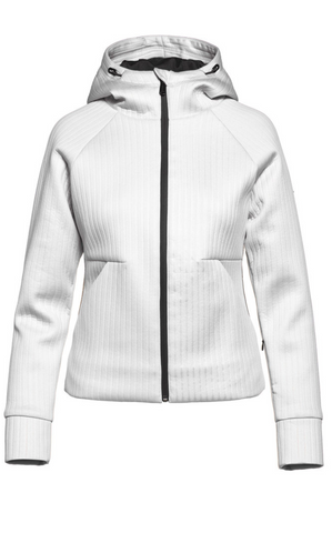 Goldbergh Ufita White Hooded Jacket