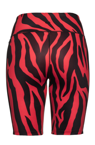 Goldbergh Red and Black Tiana Biker Short