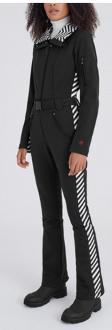 Perfect Moment Aspen One Piece Ski Suit in Black