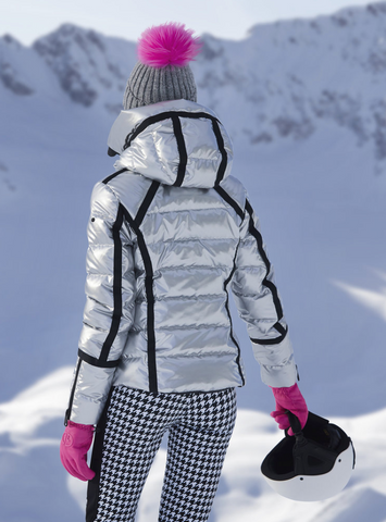 Goldbergh Mirror Silver Downfilled Ski Jacket
