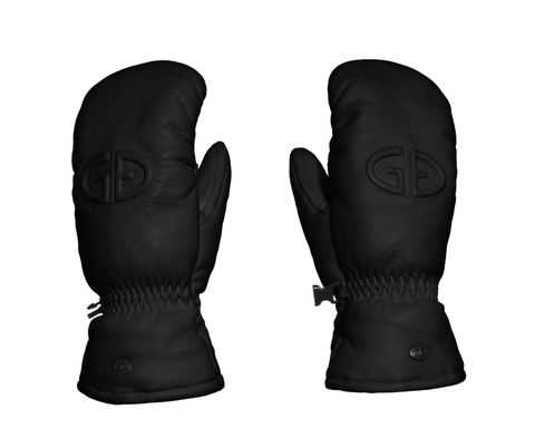 Goldbergh Hilja Black Leather Mitten