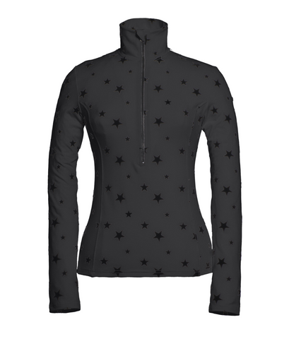 Goldbergh Santina Ski Base Layer with Black Stars