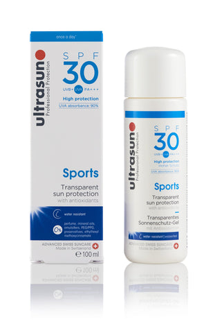 Ultrasun Sports Gel Sunscreen with SPF30