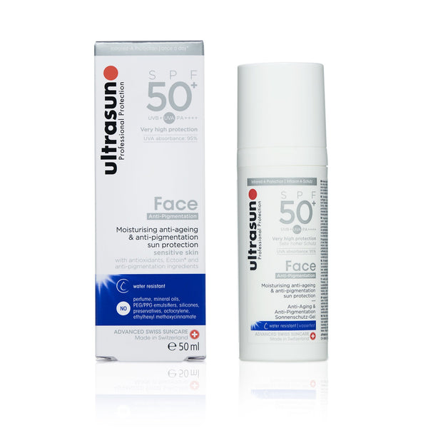 Ultrasun Anti-Pigmentation Face 50+ Sunscreen in 50ml