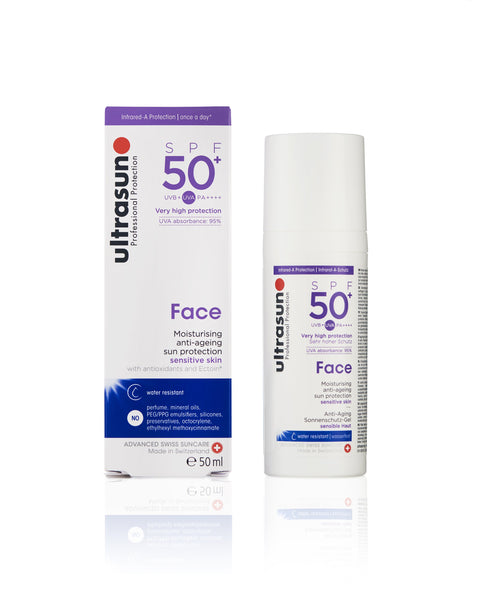 Ultrasun Face 50 Sunscreen in 50ml