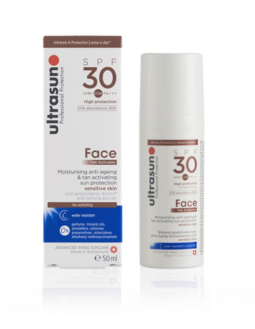 Ultrasun Face Tan Activator with SPF30