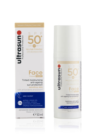 Ultrasun Tinted Face Ivory 50 Sunscreen in 50ml
