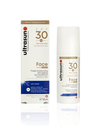 Ultrasun Tinted Face 30 Sunscreen in 50ml