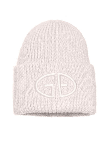 Goldbergh Valerie Knitted Beanie in Winter White