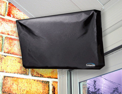 Apex LE2412DM 24-inch LED DVD Combo Flat Panel HDTV OUTDOOR TV COVER - BLACK
