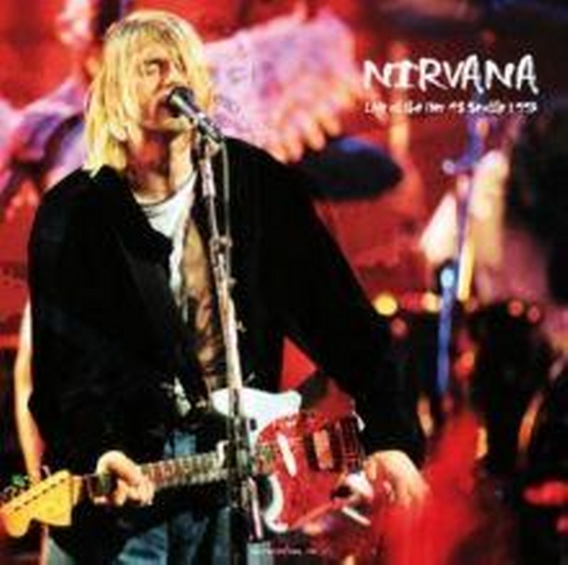 Nirvana - Live At The Pier 48 Seattle December 13 1993 [LP] Limited 180gram colroed vinyl, import