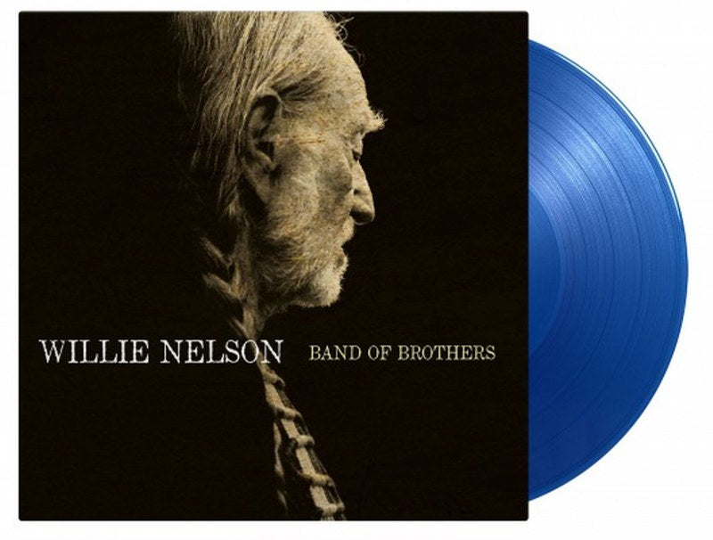 Willie Nelson - Band Of Brothers [LP] Limited 180gram Blue colored vinyl, numbered