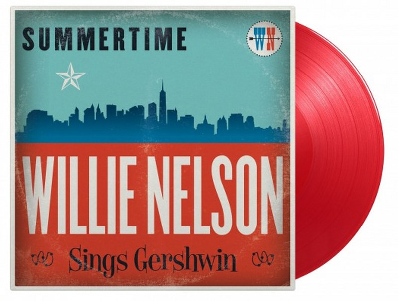 Willie Nelson - Summertime: Willie Nelson Sings Gershwin [LP] Limited 180gram Red colored vinyl, Numbered