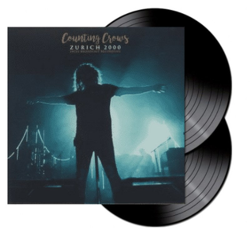 Counting Crows - Zurich 200: Swiss Broadcast Recording [2LP] Limited 140gram Double Black Vinyl, import
