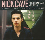 Nick Cave - The Broadcast Archives [3CD] Limited Edition, import
