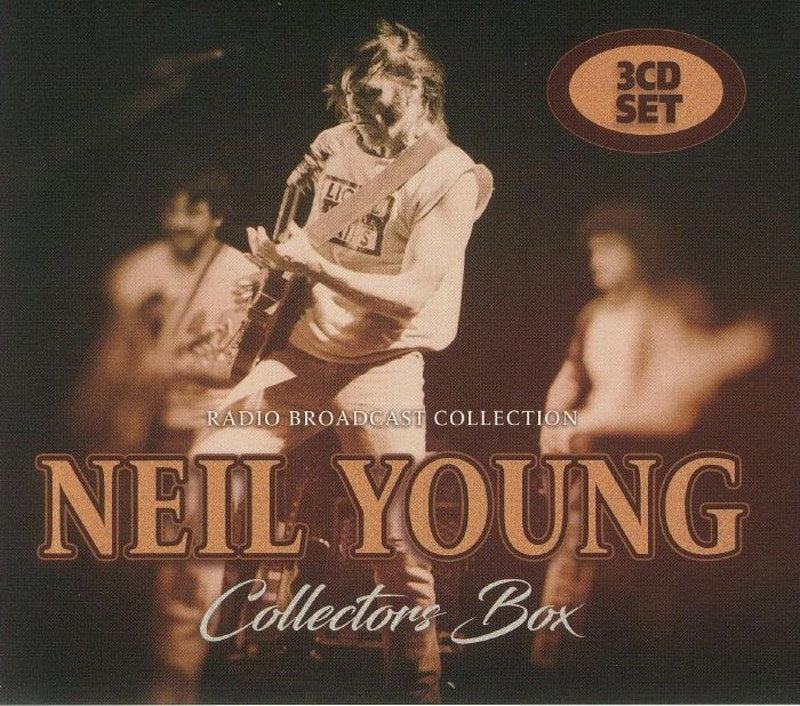 Neil Young - Collectors Box: Radio Broadcast Collection [3CD} Import only set