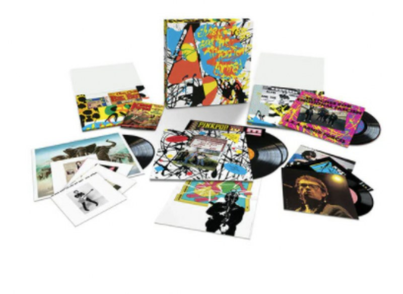 Elvis Costello & The Attractions - Armed Forces [9LP Boxset] Notebooks, Poster, Postcards, Live Tracks