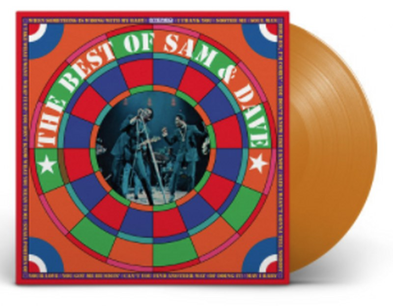 Sam & Dave - The Best Of Sam & Dave [LP] (Translucent Gold 180 Gram Vinyl, Anniversary Edition, gatefold, limited)