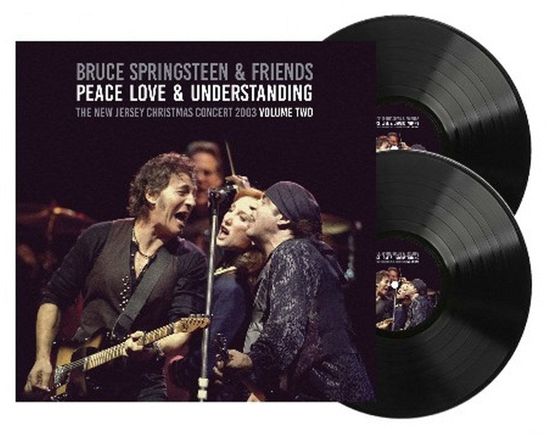 Bruce Springsteen & Friends - Peace, Love, & Understanding Vol. 2 [2LP] Limited 140gram Double Black Vinyl, Gatefold