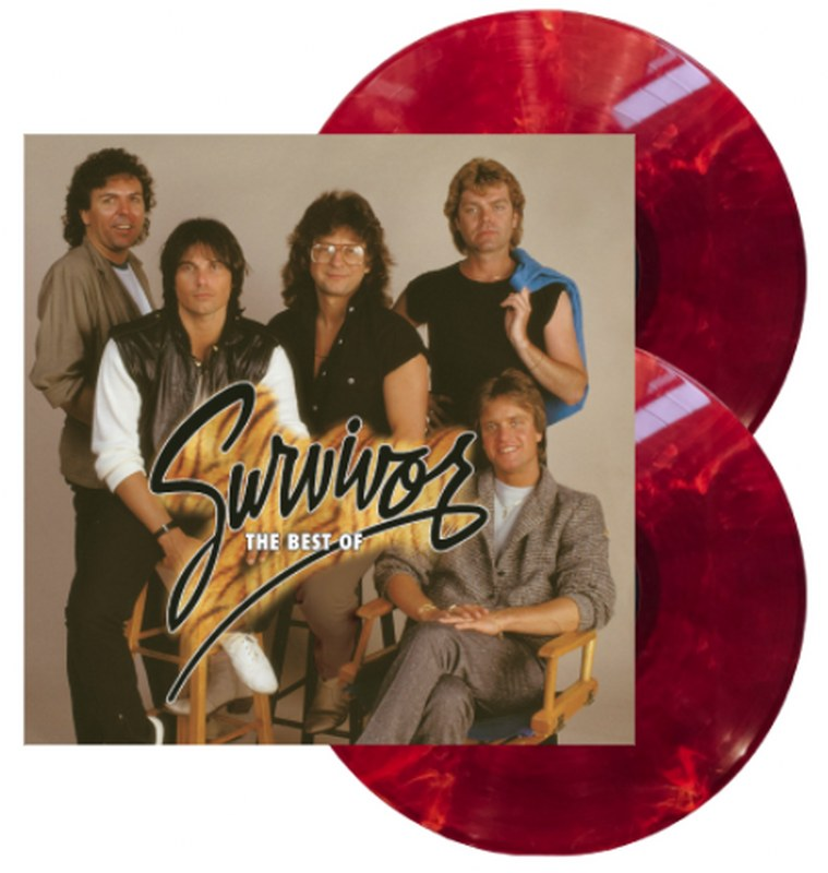 Survivor - The Best Of Survivor-Greatest Hits [2LP] (Orange & Red Swirl 180 Gram Audiophile Vinyl, Halloween Edition, gatefold, poster, limited)