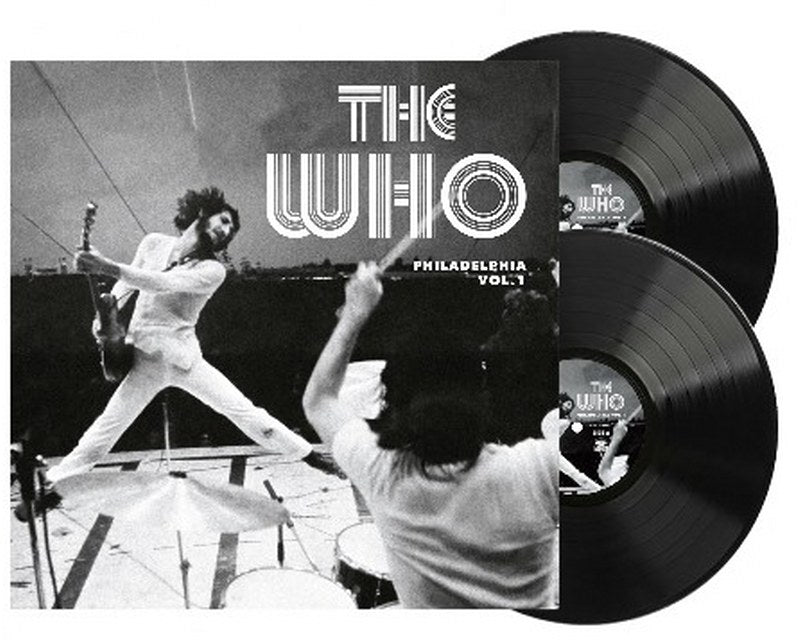 Who, The - Philadelphia 1973 Radio Broadcast Vol. 1 [2LP] Limited 140gram Black vinyl, import only release