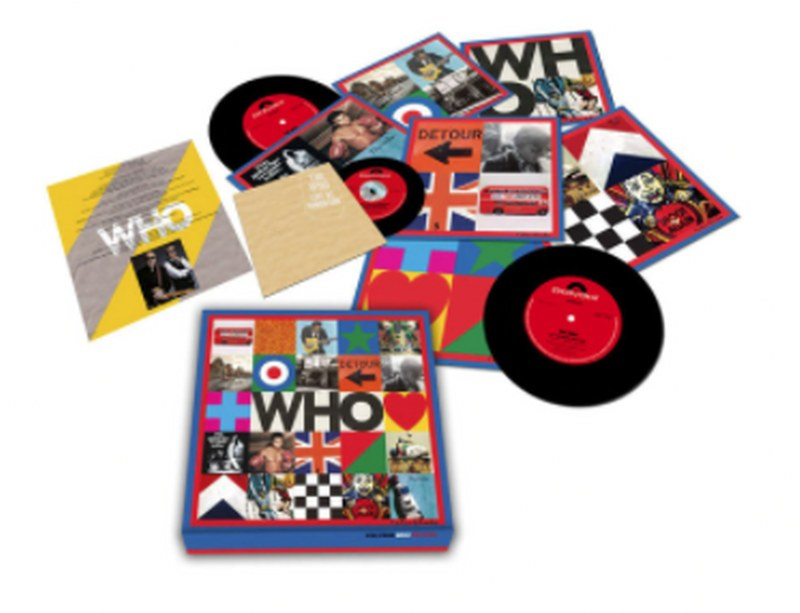 "Who, The - WHO [6x7''+CD] Numbered, Limited Edition 6 7"" Vinyl Singles + Bonus CD!"