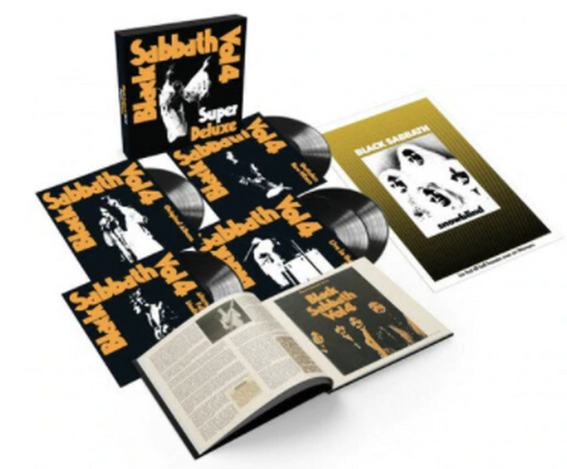 Black Sabbath Vol. 4 [5LP] Super Deluxe Edition 5LP Box Set