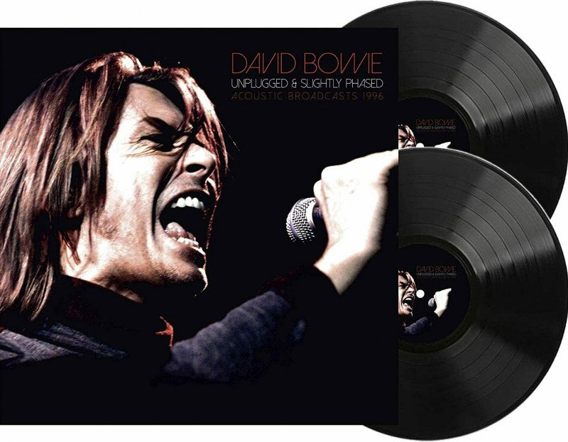 David Bowie - Unplugged & Slightly Phased [2LP] Limited 140gram Double Black vinyl, import
