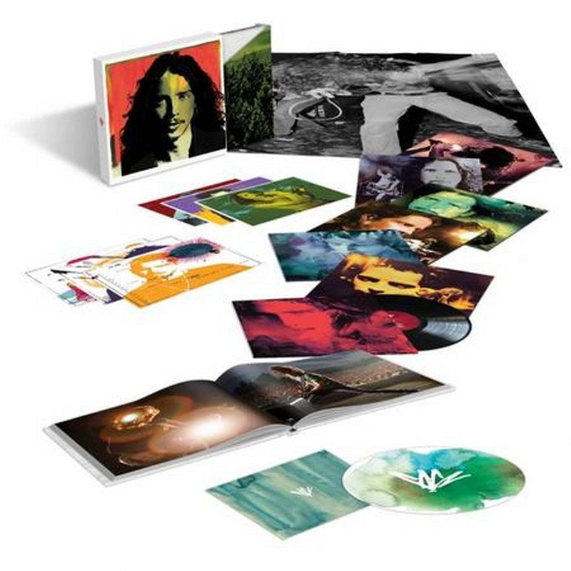 Chris Cornell (Super Deluxe Edition) [7LP+4CD+DVD Box] (180 Gram Black Vinyl, 13 previously unreleased tracks, 66-page hardcover photo book, 6 lithographs, limited)