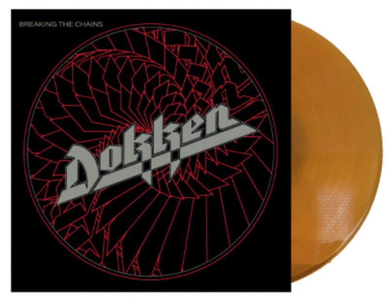 Dokken - Breaking The Chains [LP] (Translucent Gold 180 Gram Audiophile Vinyl, Anniversary Edition, limited)