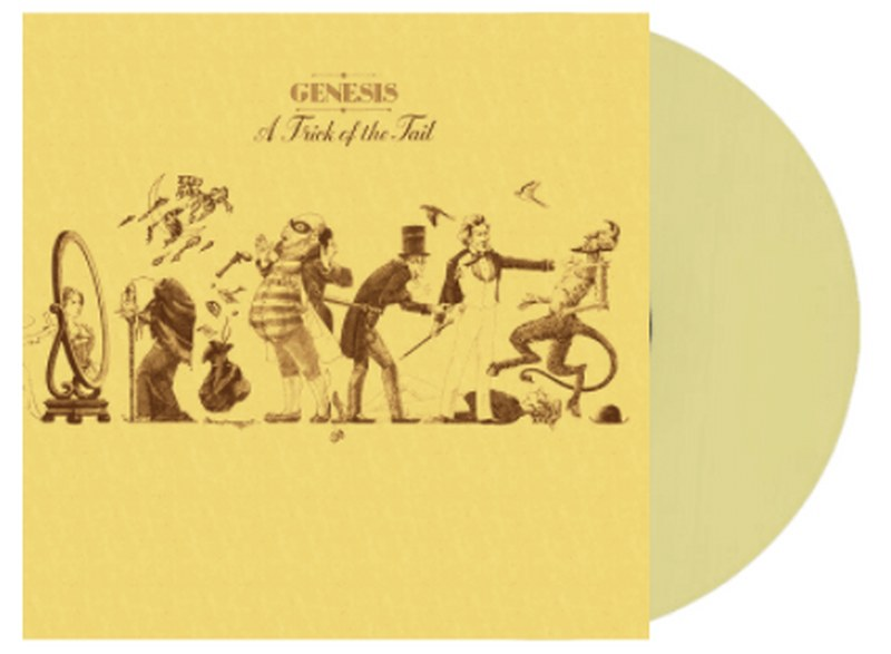 Genesis - A Trick Of The Tail [LP] (Easter Yellow 180 Gram Vinyl, limited to 3000)