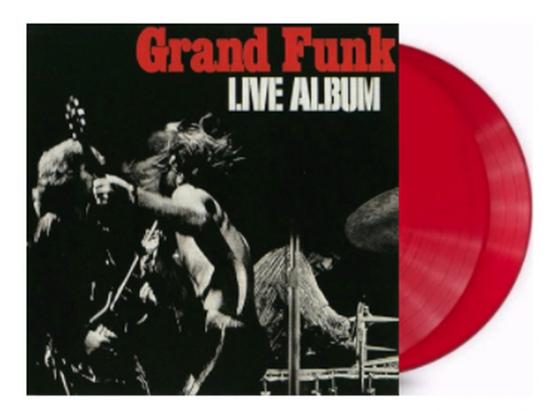 Grand Funk Railroad - Live Album [2LP] (Translucent Red 180 Gram Audiophile Vinyl, 50th Anniversary Edition, gatefold, limited)
