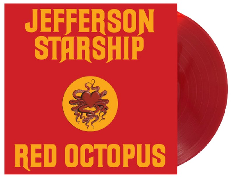 Jefferson Starship - Red Octopus [LP] (Translucent Red 180 Gram Audiophile Vinyl, 45th Anniversary Edition, gold embossed die cut cover, limited)