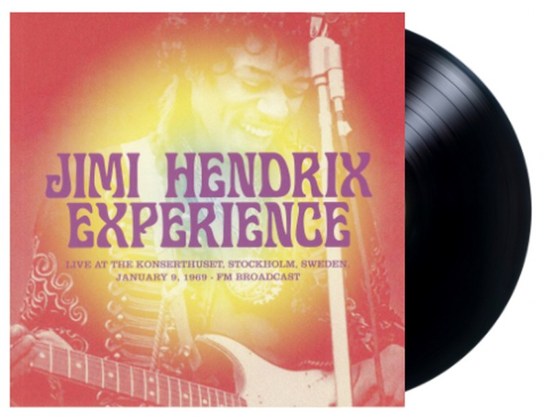 Jimi Hendrix Experience - Live At The Konserthuset Stockholm Sweden January 9 1969: FM Broadcast [LP] Limited, import