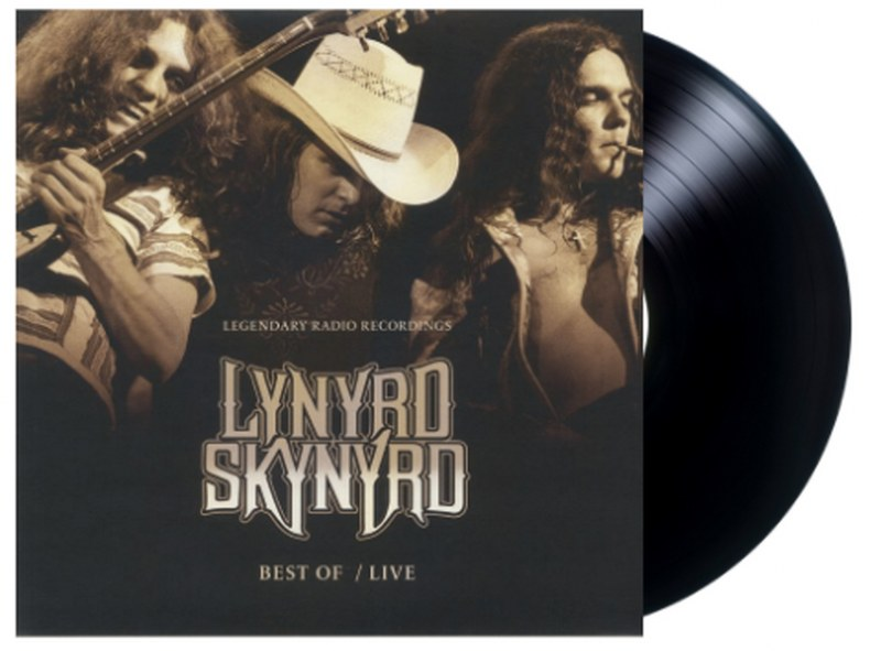 Lynyrd Skynyrd - Best Of Live: Legendary Radio Recordings [LP] Limited, import