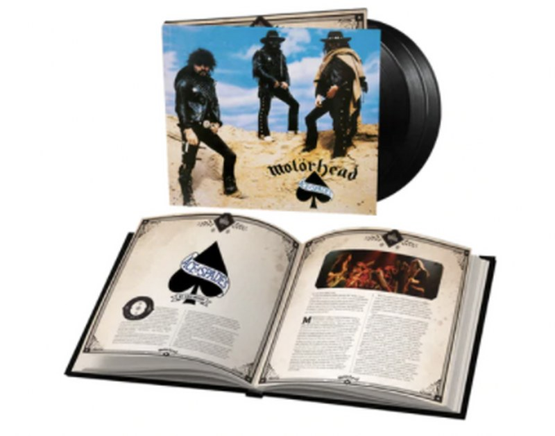 Motorhead - Ace Of Spades [3LP] (180 Gram, 20 page bookpack, 17 previously unreleased tracks)