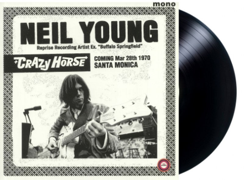 Neil Young/ Crazy Horse - Santa Monica Civic 1970 (mono) [LP] Limited, import