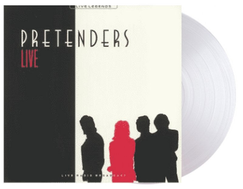 Pretenders - Live [LP] Limited Clear colored vinyl, Import only live broadcast release