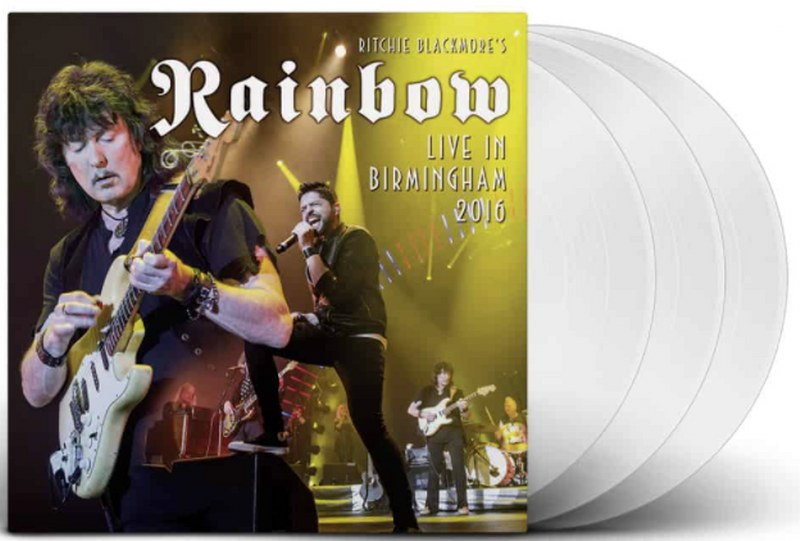 Rainbow - Live In Birmingham 2016 [3LP] (White Vinyl, limited)
