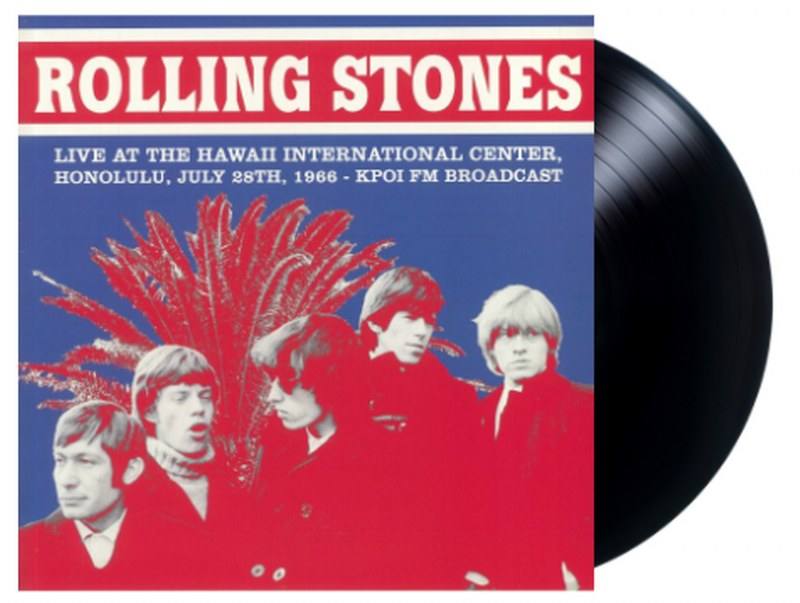 Rolling Stones, The - Live At The Hawaii International Center Honolulu July 28th 1966: KPOI FM Broadcast[LP] Limited, import