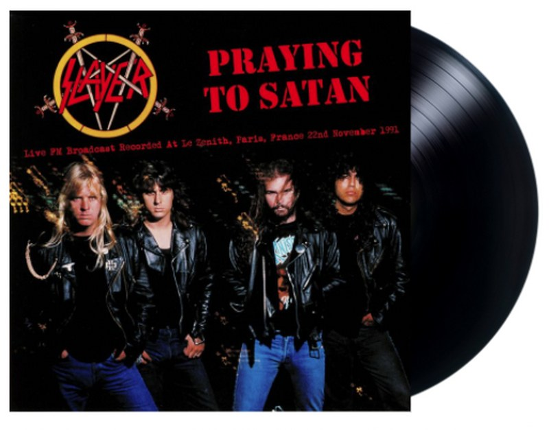 Slayer - Praying To Satan [LP] Live FM Broadcast, Limited, import