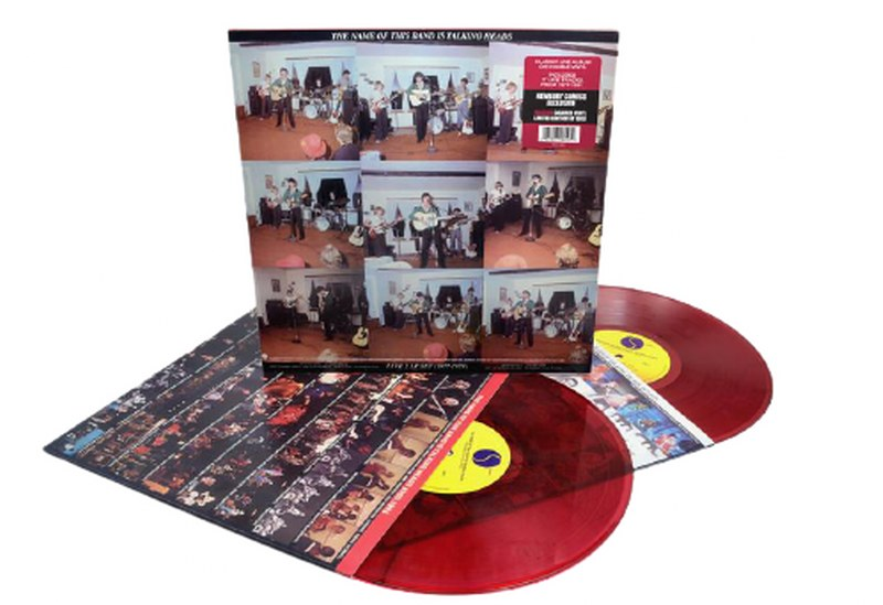 Talking Heads - The Name Of This Band Is Talking Heads [2LP] (Red Opaque Vinyl, limited to 3500)
