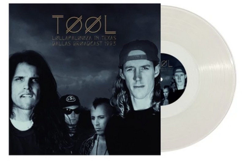 Tool -  Lollapalooza In Texas: Dallas Broadcast 1993 [LP] Limited 140gram Clear vinyl