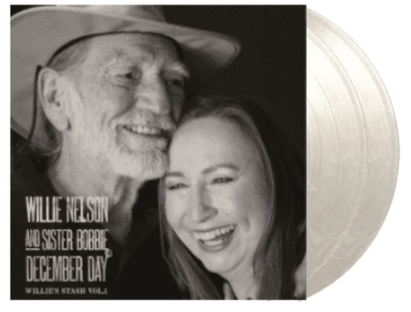 Willie Nelson And Sister Bobbie - December Day: Willie's Stash Vol. 1 [2LP] Limited 180gram Snow White Colored vinyl, numbered