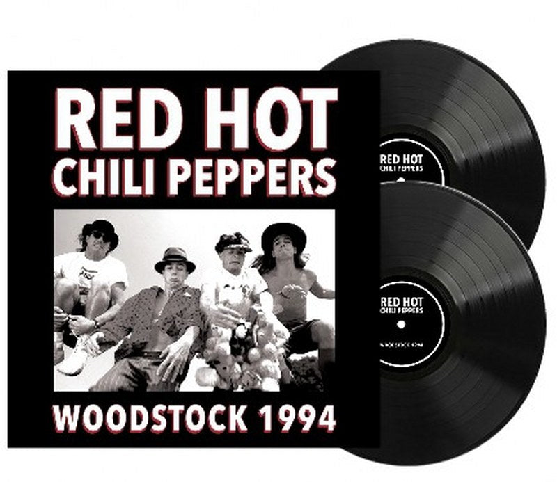 Red Hot Chili Peppers - Woodstock 1994 [2LP] Limited 140gram Black vinyl, import