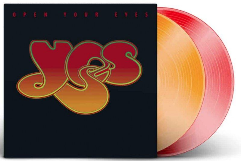 Yes - Open Your Eyes [2LP] (Colored Vinyl, limited)